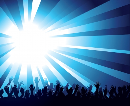 worship praise: Multitud Y Starburst