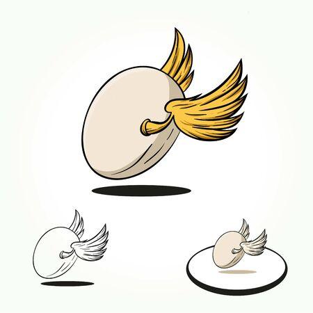 Egg wings or ball wings