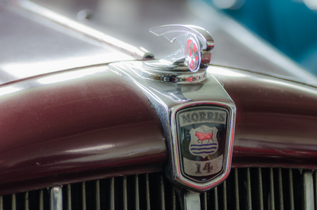 drivers license: morris classic car detail view