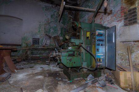 control box: control box of machine in factory