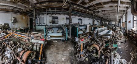 spinning machine panorama view