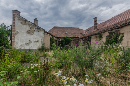 Overgrown Buildings Stock Photos And Images - 123RF