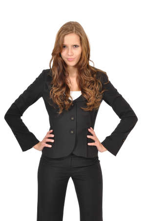 Business woman is outraged Stock Photo - 9974875