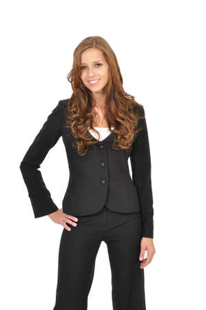 Business woman standing model