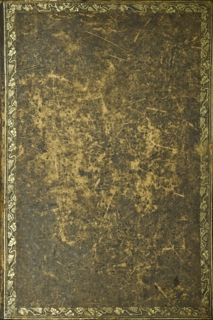 book binding: Old book cover texture Stock Photo
