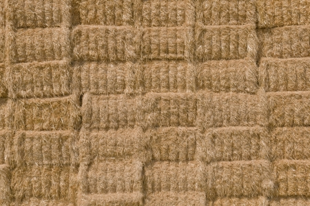 straw bale stack texture photo