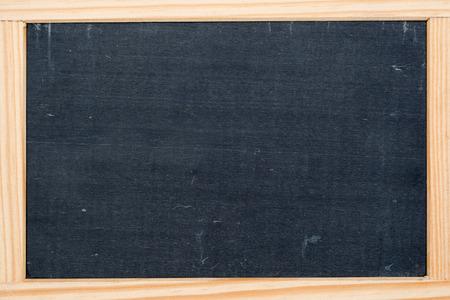 dark grey slate: empty dark grey slate chalkboard framed