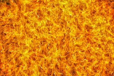 full framed  intense orange fire flames texture