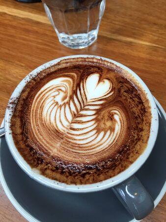 art: Cappuccino coffee art