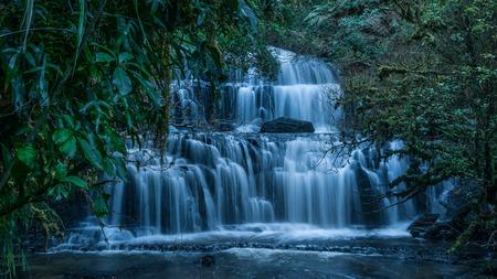 Purakaunui Falls, The Catlins, New Zealand.
