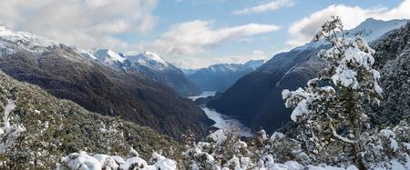 Along the way to Doubtful Sound, New Zealand. Stok Fotoğraf