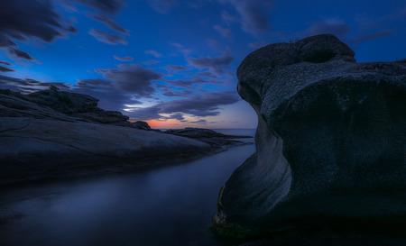 Daybreak at Roques Planes, Costa Brava, Spain