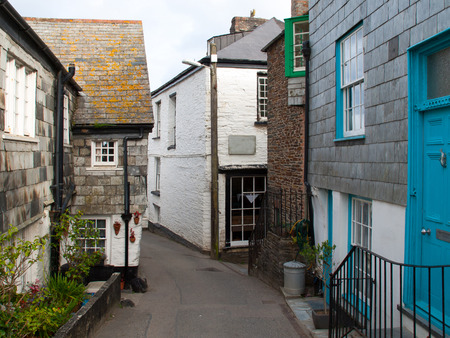 isaac: Charming village lane in Port Isaac in north Cornwall