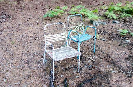 worn: Chairs worn