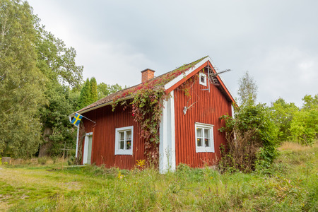 17th: This is a late 17th cetury soldiers house, part of the Swedish military croft system