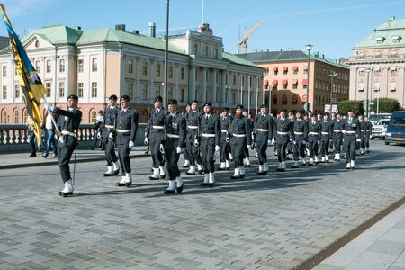 royals: Changing of the Royal Guards stockholm