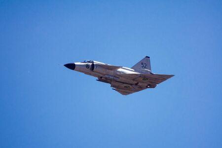 avion chasse: Saab 37 Viggen avion de chasse Éditoriale