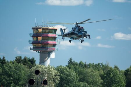 thrust: Czech Mil Mi-24 helicopter Editorial