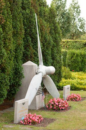 seconda guerra mondiale: Americano tomba seconda guerra mondiale piloti a Malmo