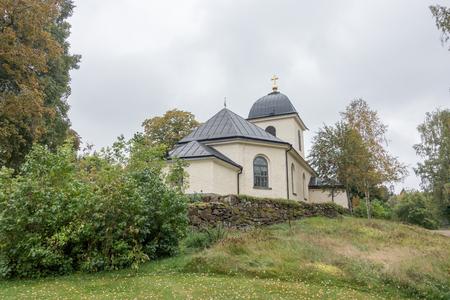 Kvarsebo 教会は、1808 年に建てられました。