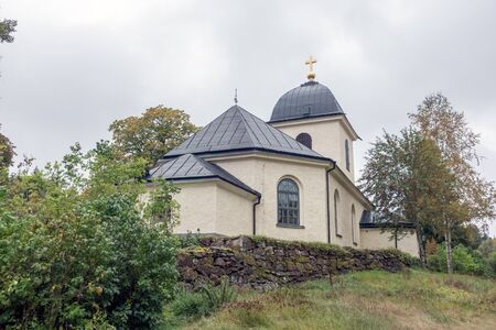 Kvarsebo 教会は1808年に建てられました 写真素材 - 89341368