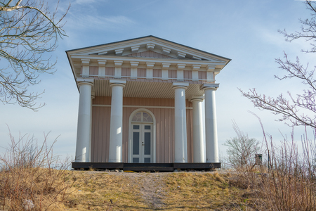 This building  style is called Eko Temple and this one  lies in Strangnas in Sweden, it was built in 1819 Reklamní fotografie