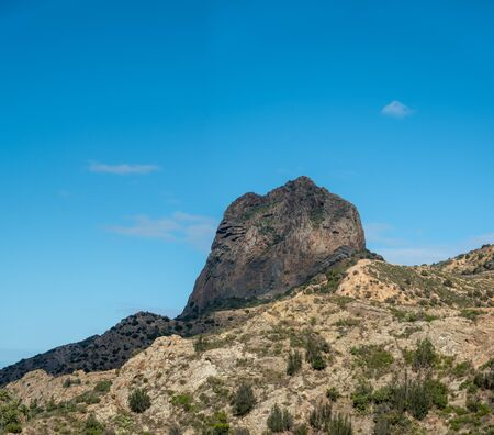 mountain near  Vallehermoso  on La Gomera island