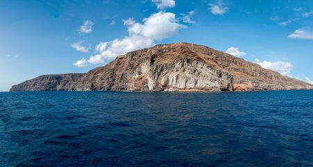 La Gomera from the sea 写真素材