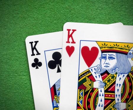 jeu de carte: Paire de rois