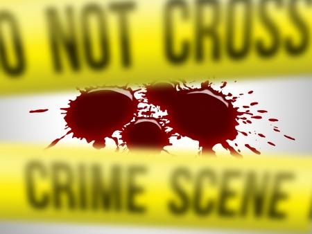 incidental people: Crime scene