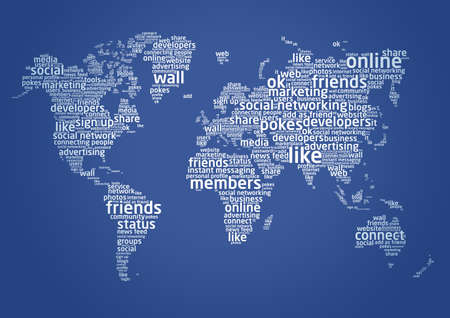 The world of social networking photo