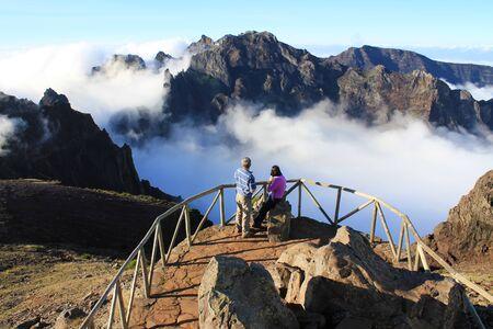 Pico do Areeiro peak