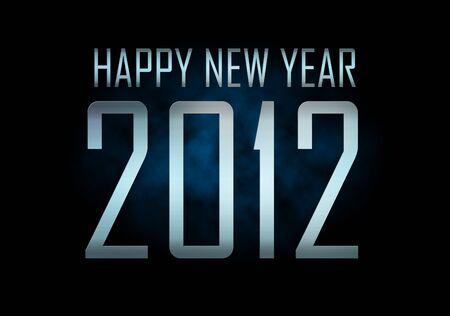 Happy new year 2012 Stock Photo - 10054817