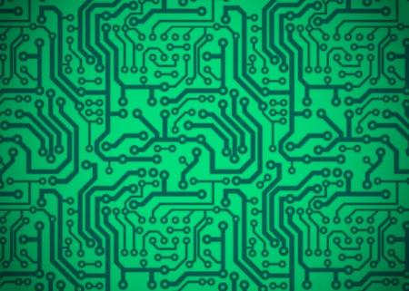 cobre: Placa de circuito impreso