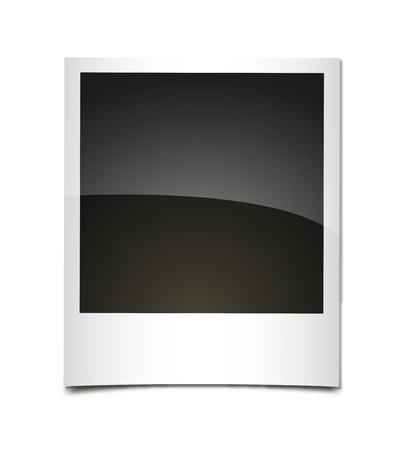 Bright polaroid  Vector