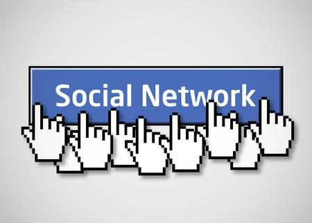 Social network button 2