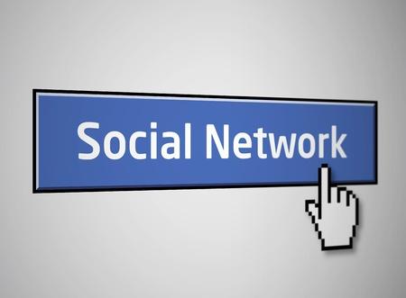 clic: Social network button