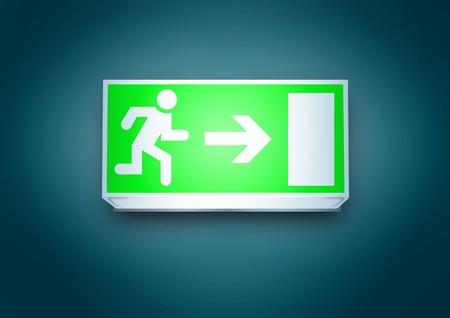 salidas de emergencia: Salida a la derecha