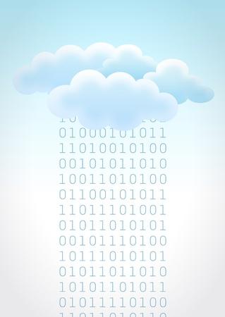 Cloud computing 2 Vector