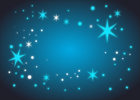 Blue party Background Stock Vector - 10983693