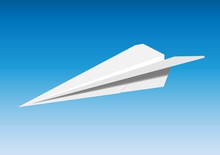 flew: Paper plane
