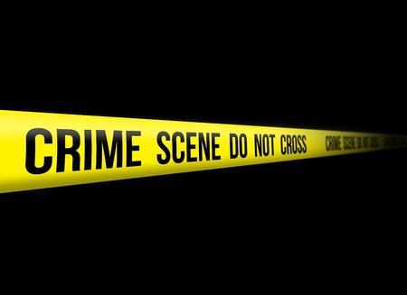 hazard tape: Crime Scene Do Not Cross