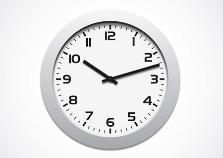 Modern clock Stock Vector - 11960483