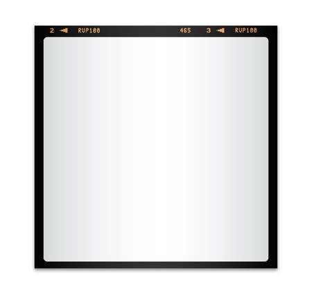 Blank photo film isolated Stock Vector - 12186323