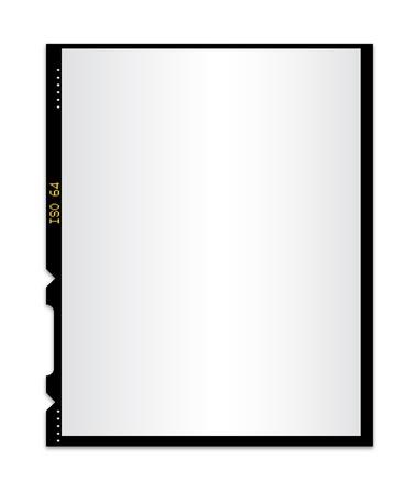 Blank photo film isolated 2 Stock Vector - 12186325