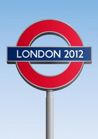 London 2012 sign Stock Photo - 12495113