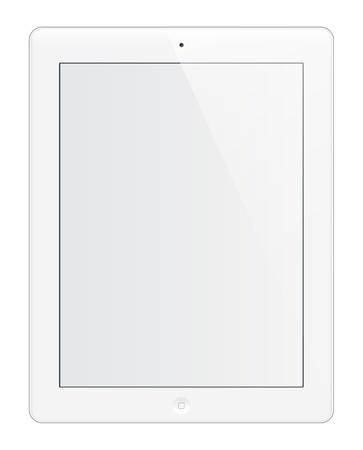 photo hardware: White tablet