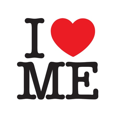 I Love Me Stock Vector - 13126707
