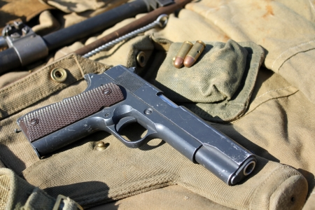 colt: Old military weapon