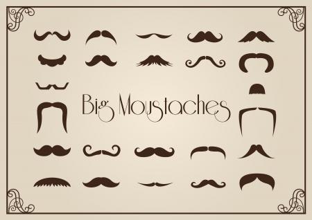 Mustaches Sammlung